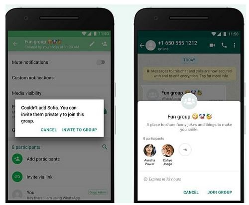 WhatsApp ability to block anyone from adding you to a group - 2