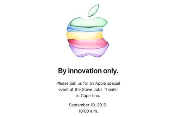 2019 iPhone invite