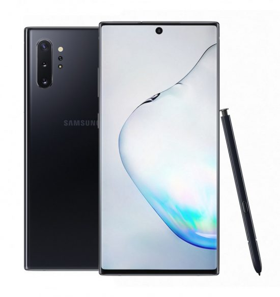 Galaxy Note10+ in aura black