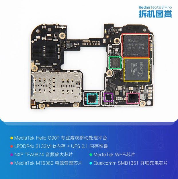 Helio G90T chipset with UFS 2.1 storage