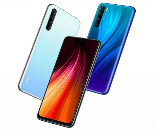 Redmi Note 8 in colours