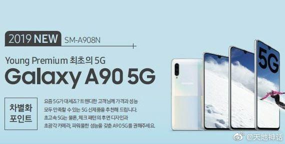 Samsung Galaxy A90 5G Poster