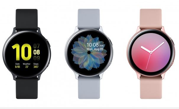 Samsung Galaxy Watch Active 2: 40mm aluminum