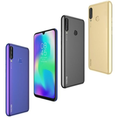 Tecno Pouvoir 3 Plus in Colours