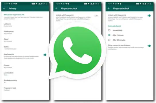 WhatsApp Gets FingerPrint Authentication Feature