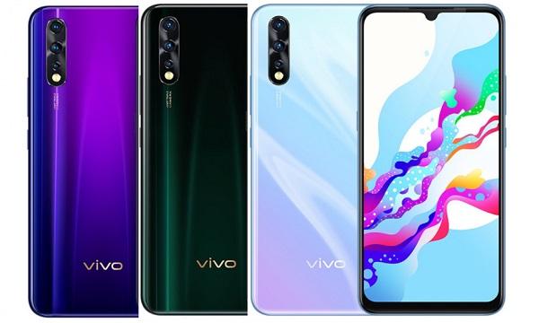 vivo Z5 in colours
