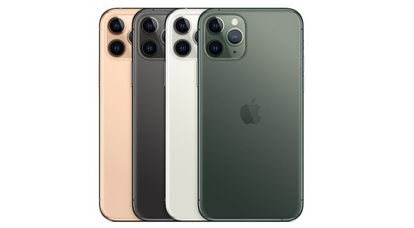 Apple iPhone 11 Pro in colours