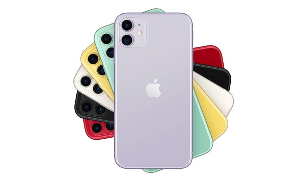 Apple iPhone 11 in colours