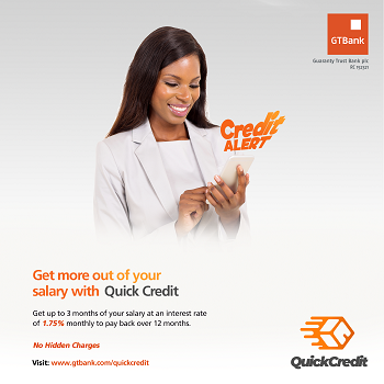 GTB Quick Credit Loan