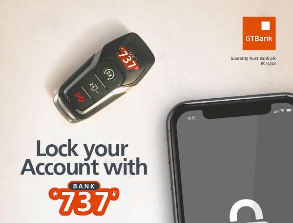 Lock your gtb account using 737