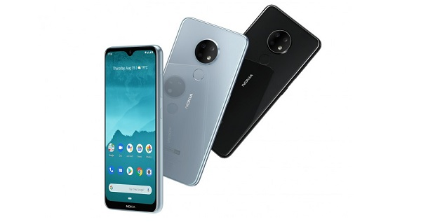 Nokia 6.2 in colours
