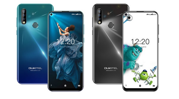 Oukitel C17 Pro in colours