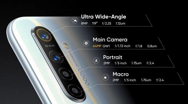 Realme XT with 64MP quad camera