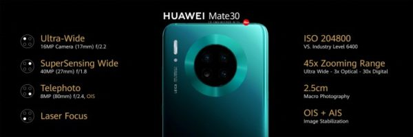 Mate 30 series launched