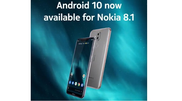 Android 10 now available for 8.1