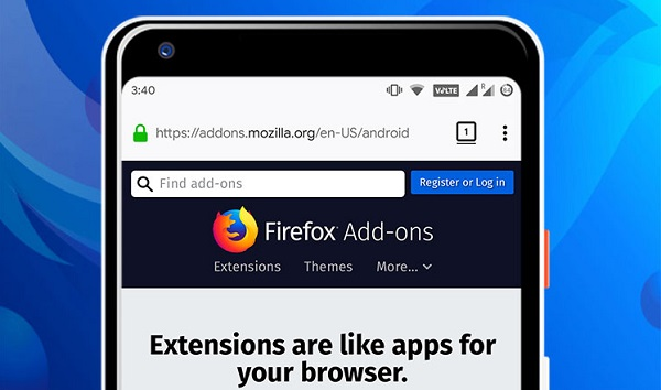 Firefox for Android gets extension
