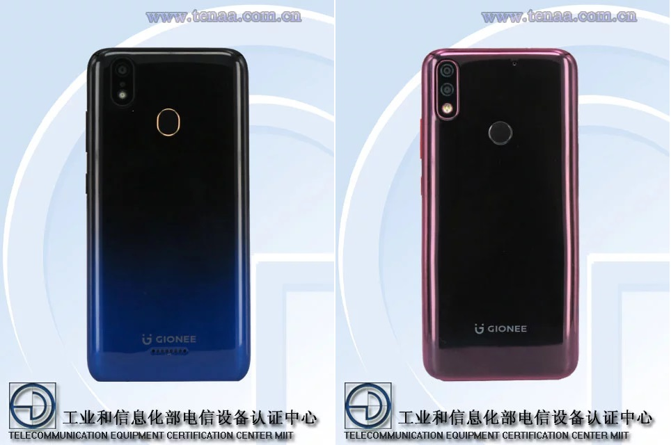 Gionee 20190419Q and 20190418Q