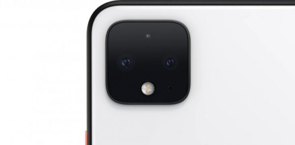 Google Pixel 4 rear camera