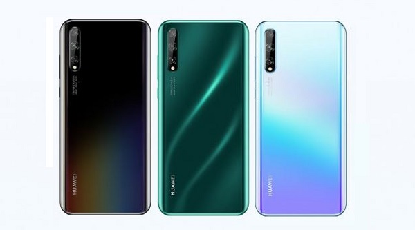 Huawei Enjoy 10s in colours.
