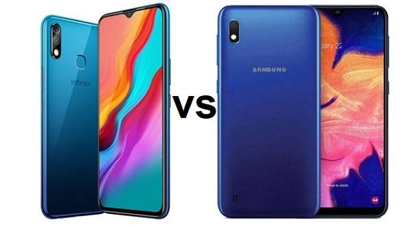 Infinix HOT 8 Lite vs Samsung Galaxy A10