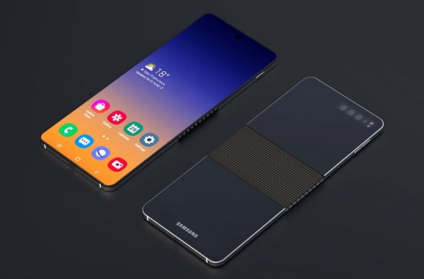 Samsung Galaxy Fold 2 Concept is clamshell model