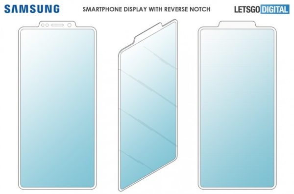 Samsung patent reverse notch