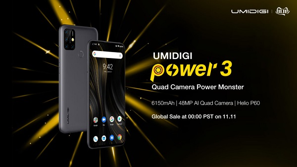 UMIDIGI Power 3 banner