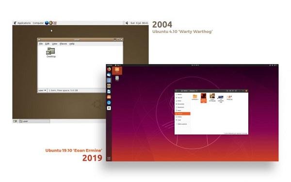 Ubuntu 2004 vs 2019
