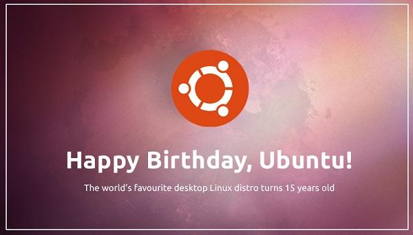 Ubuntu is 15