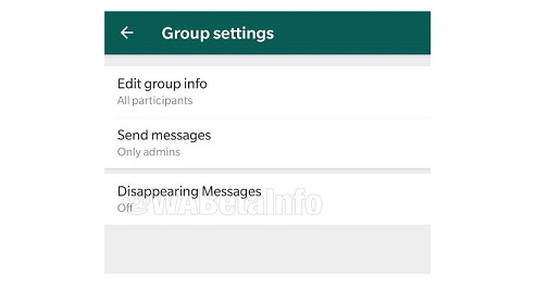 WhatsApp is testing disappearing messages 2