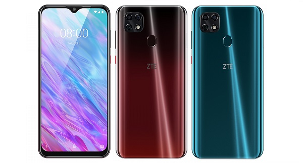 ZTE Blade 20 in colours