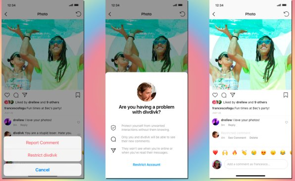 instagram feature to allow shadow ban on bullies