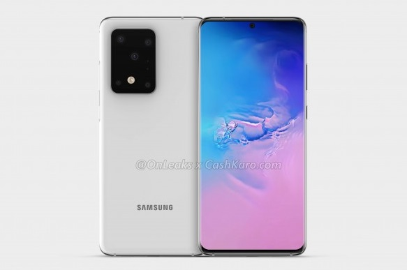 Alleged Galaxy S11+ Render