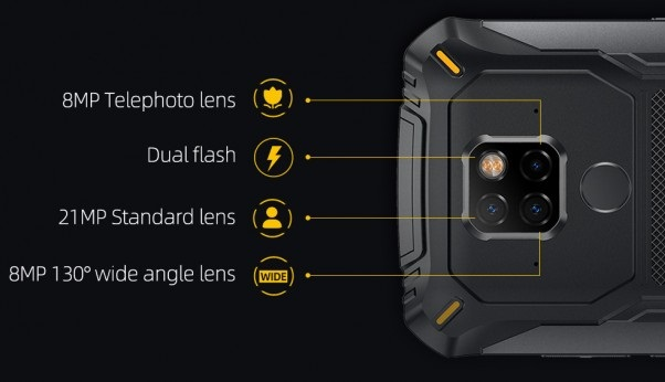 Doogee S68 Pro Rear Camera Details