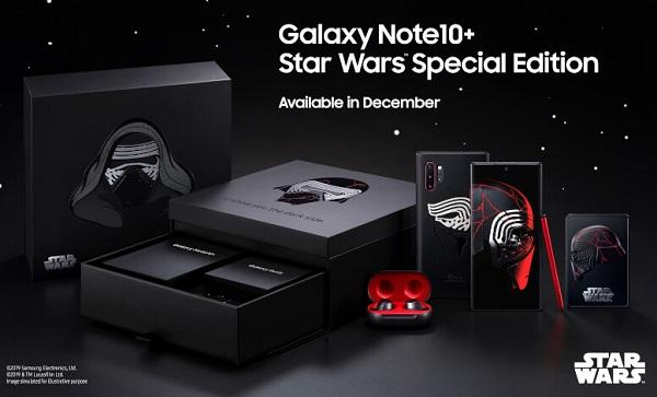 Galaxy Note10+ Star Wars Special Edition