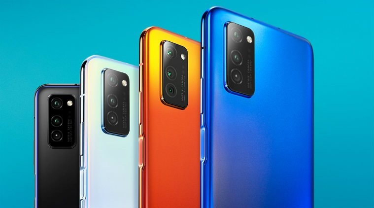 Honor V30 in colours