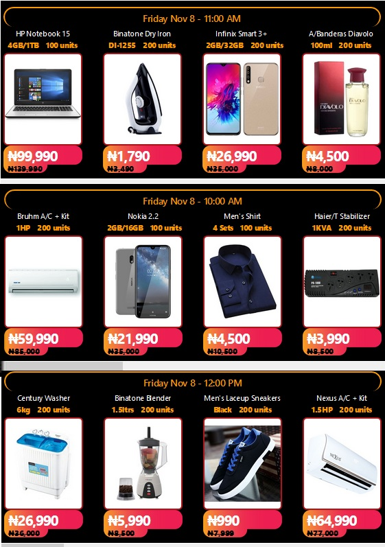 Jumia Black Friday Is Live Get 90 Discount