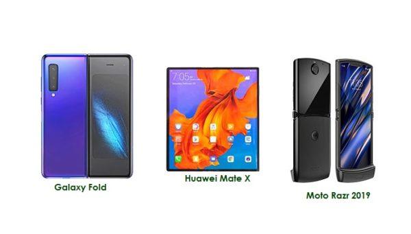 Samsung Galaxy Fold vs Huawei Mate X vs Motorola Razr