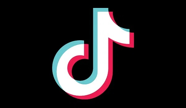 The Tiktok app logo