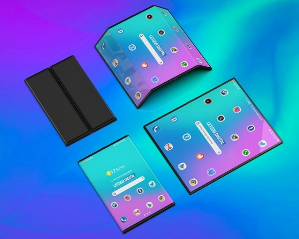 Unofficial 3D renders of Xiaomi foldable phone