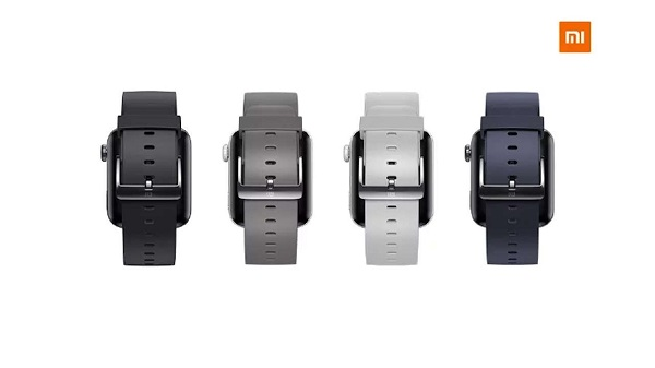 Xiaomi Mi Watch straps in colours
