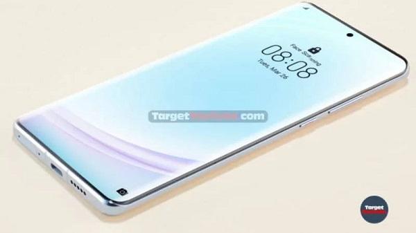Alleged Huawei P40 Pro Render
