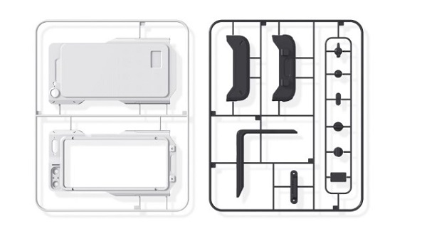 First Modular Smartphone Powered by Blockchain sketch