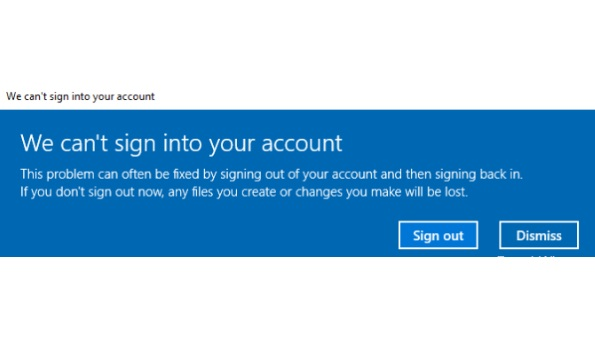 How to Fix We Can't Sign Into Your Account