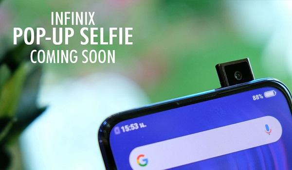 Infinix Phone With Pop-up Selfie Camera 2020 - 1
