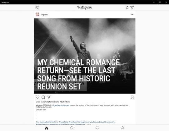 Instagram Desktop App