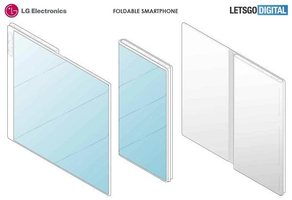 LG Patent on Foldable Phone