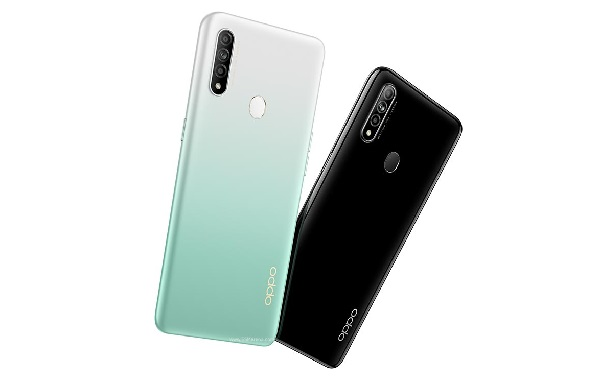 OPPO A8 in Colours