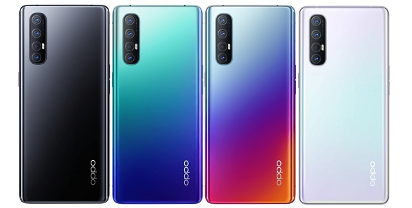 Oppo Reno 3 Pro in Colours
