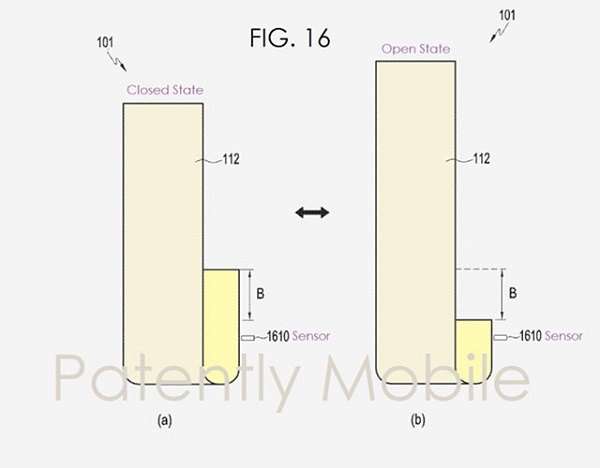 Samsung patent on Stretchable Display